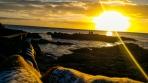 Pôr do sol de Punta del Este